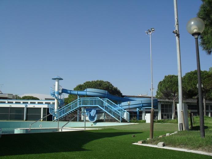 Water park in Grado