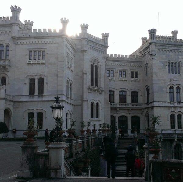Castello di Miramare come spiegarlo ai bambini!
