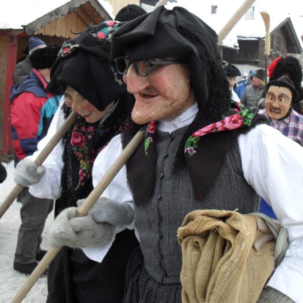 Carnevale a Sappada! Una tradizione particolare!